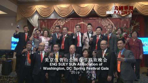 美京伍胥山公所春节联欢晚会 ENG SUEY SUN Association of Washington, DC Spring Festival Gala 2019