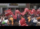 马州洛市蛇年春节游行 5
