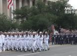 华盛顿华人社区联盟参加美国独立日大游行