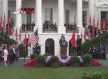 美国总统奥巴马在白宫举行仪式欢迎中国国家主席习近平