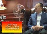 北京市人大代表   刘峰 博士   谈中国民主建设及侨联作用