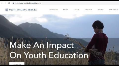 make an impact on youth education